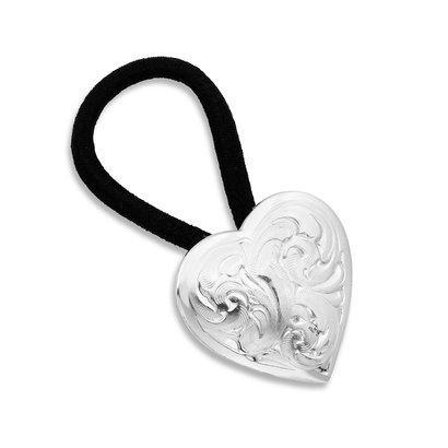 Montana Silversmiths Montana Silversmiths Classic Heart Concho Hair Tie