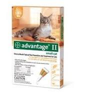 Bayer Healthcare, LLC Advantage II Flea & Tick Cat