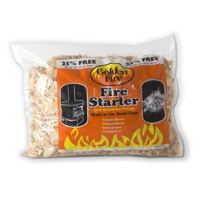 Bear Mountain Forest Products Golden Fire Starter Shavings