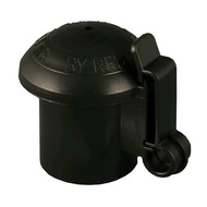 Zareba Systems Red Snap'r Wood/T-Post Snap'r Cap'r Insulator Black 10 ct.