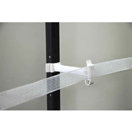 "Zareba Systems Zareba T-Post Poly Tape 5"" Extender Insulator White 25 ct."