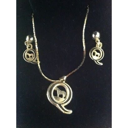 Montana Silversmiths Montana Silversmith AQHA Jewelry Set