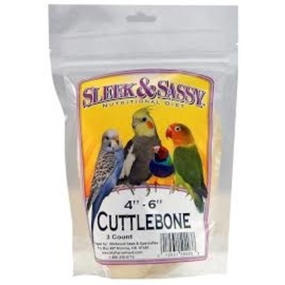 "Cuttlebone Small 4-6"" 3 pack"