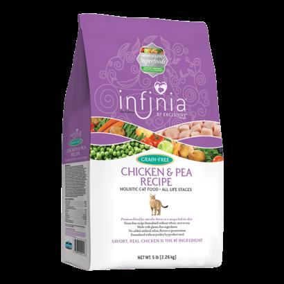 Infinia GF Cat Chicken & Pea