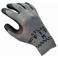 300BKXL-10RT Blk Atlas Fit Rubber Coat Glove