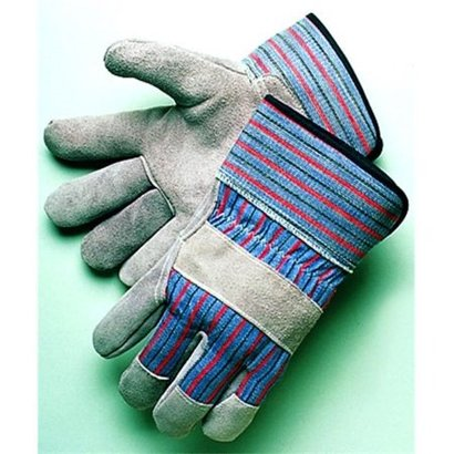 Leather Palm Glove with Safety Cuff