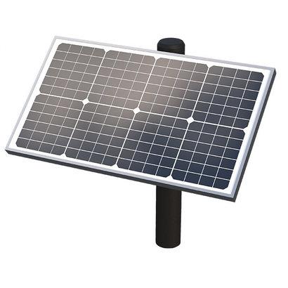 Ghost Controls Ghost Controls 10-Watt Monocrystalline Solar Panel Kit (No Post Included)