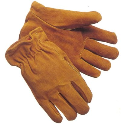Fleece Lined Leather Driver Glove