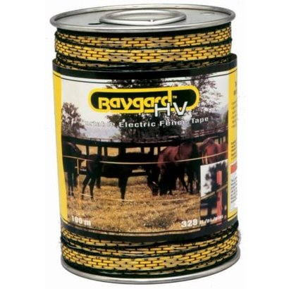 Parker McCrory Manufacturing Co. Baygard Electric Fence Yellow/Black Tape 328'