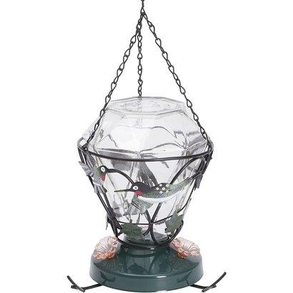 Woodstream Corporation Birdscapes Glass Hummingbird Feeder 24-ounce