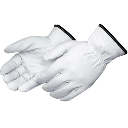 Premium Grain Goatskin Driver Lined Gloves