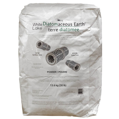 Diatomaceous Earth White Lake Food Grade
