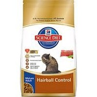 Hill's Pet Nutrition Inc. SD Feline Mature Adult Hairball