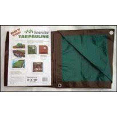 Foremost Tarp Company Foremost Brown/Green Tarp