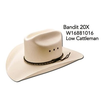 Master Hatters of Texas MHT Air Bandit 20X Western Hat
