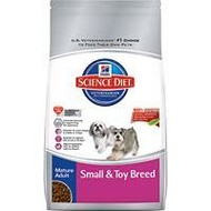 Hill's Pet Nutrition Inc. SD Canine Toy & Small Mature