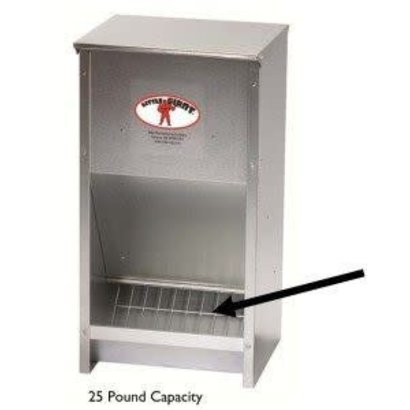 Miller Manufacturing Co. Little Giant Galvanized Poultry Feeder