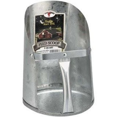 Miller Manufacturing Co. Little Giant Metal Feed Scoop