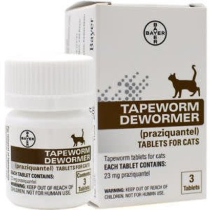 Bayer Tapeworm Dewormer for Cat