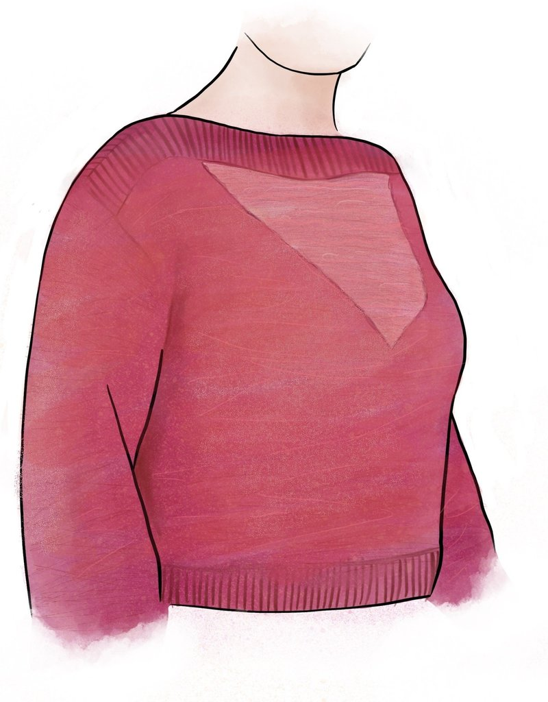 Sheer V Sweater Class 2-2020