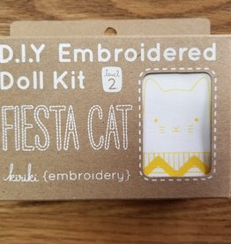 Embroidery Doll Kit