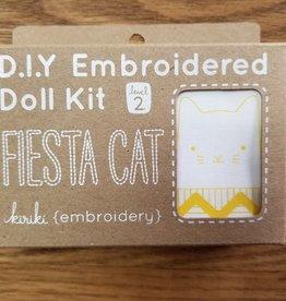 Kiriki Press Embroidery Doll Kit