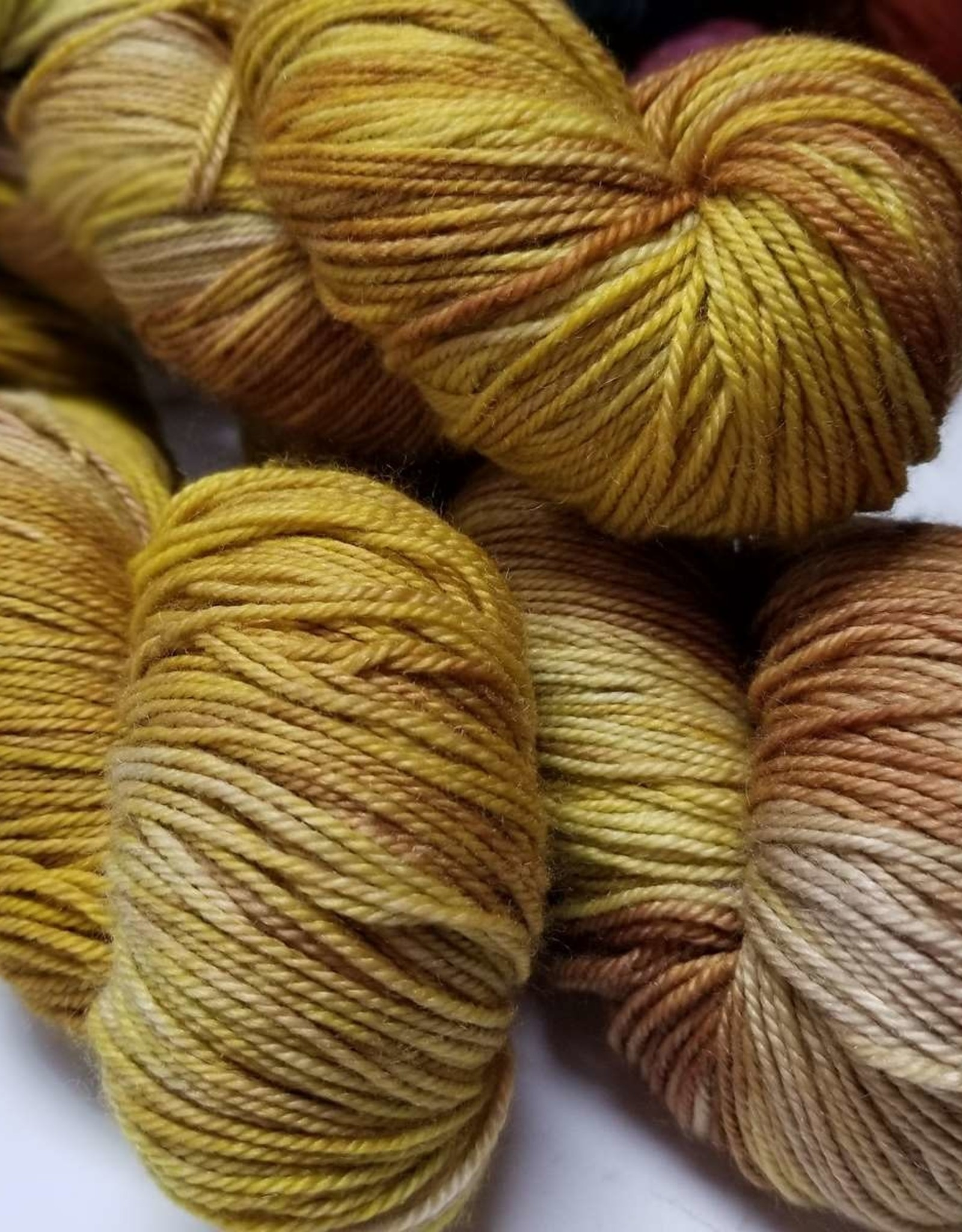 Palouse Yarn Company Cashmere Squeeze Hazelnut Leaves