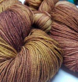 Palouse Yarn Company Organic Merino Sock Marsala