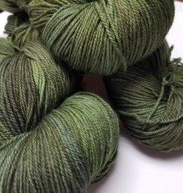Palouse Yarn Company Organic Merino Sock Granny Smith