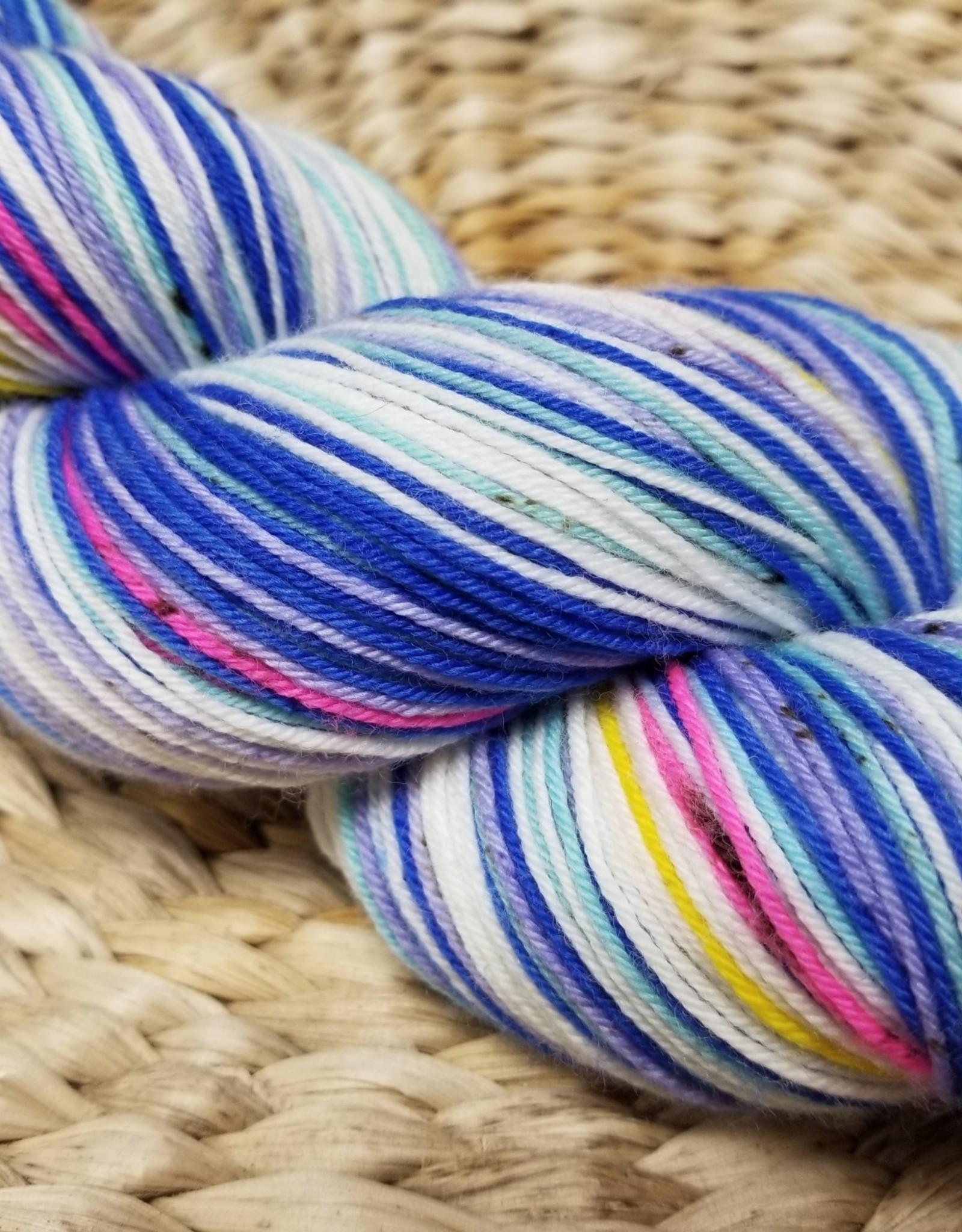 Artistic Yarns By Abi Self Striping Easter Peeps Sock Yarn