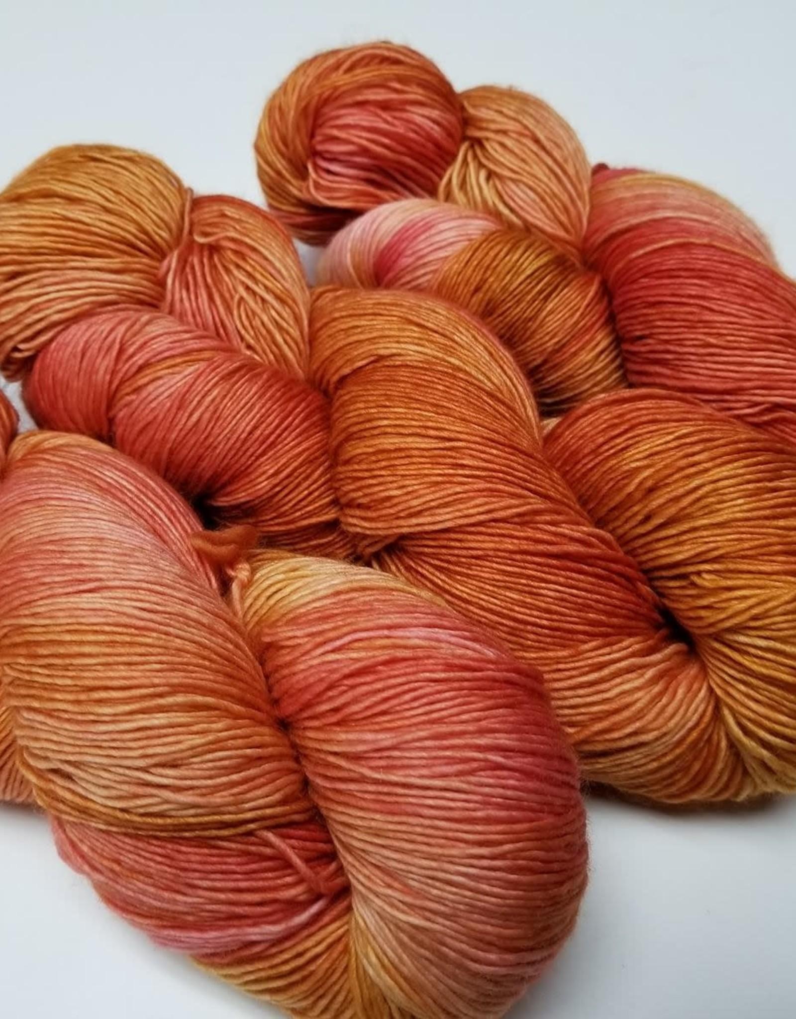 Palouse Yarn Company Merino Fine Strawberry Rhubarb Pie