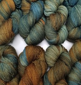 Palouse Yarn Co I Heart BFL Sock Hazelnut Bitters