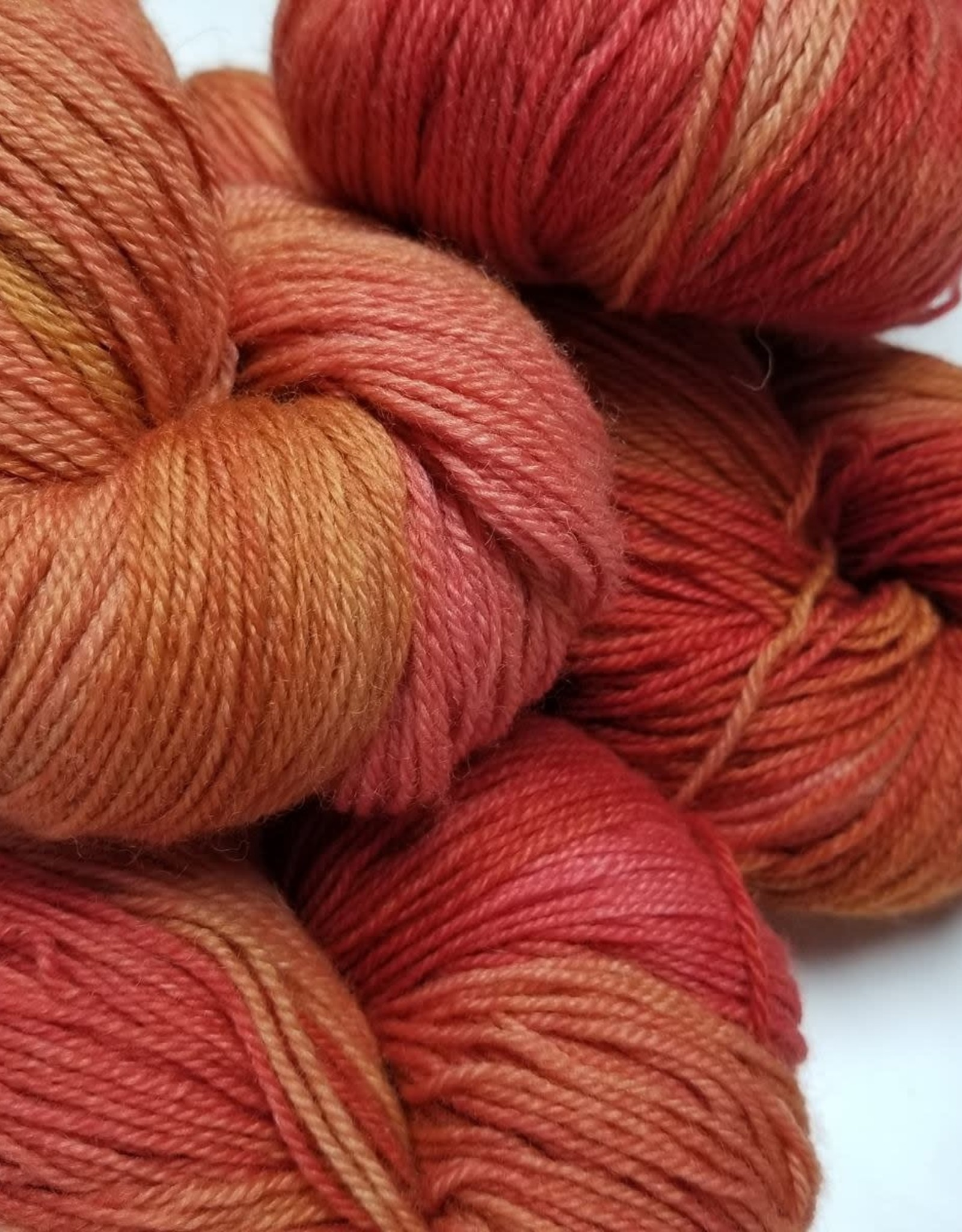 Palouse Yarn Company I Heart BFL Sock Sunspot