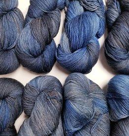 Palouse Yarn Co I Heart BFL Sock Denim