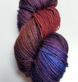 Palouse Yarn Company BFL Sock SUNSET over BANNER RDG