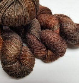 Palouse Yarn Company BFL Sock Fire Fox