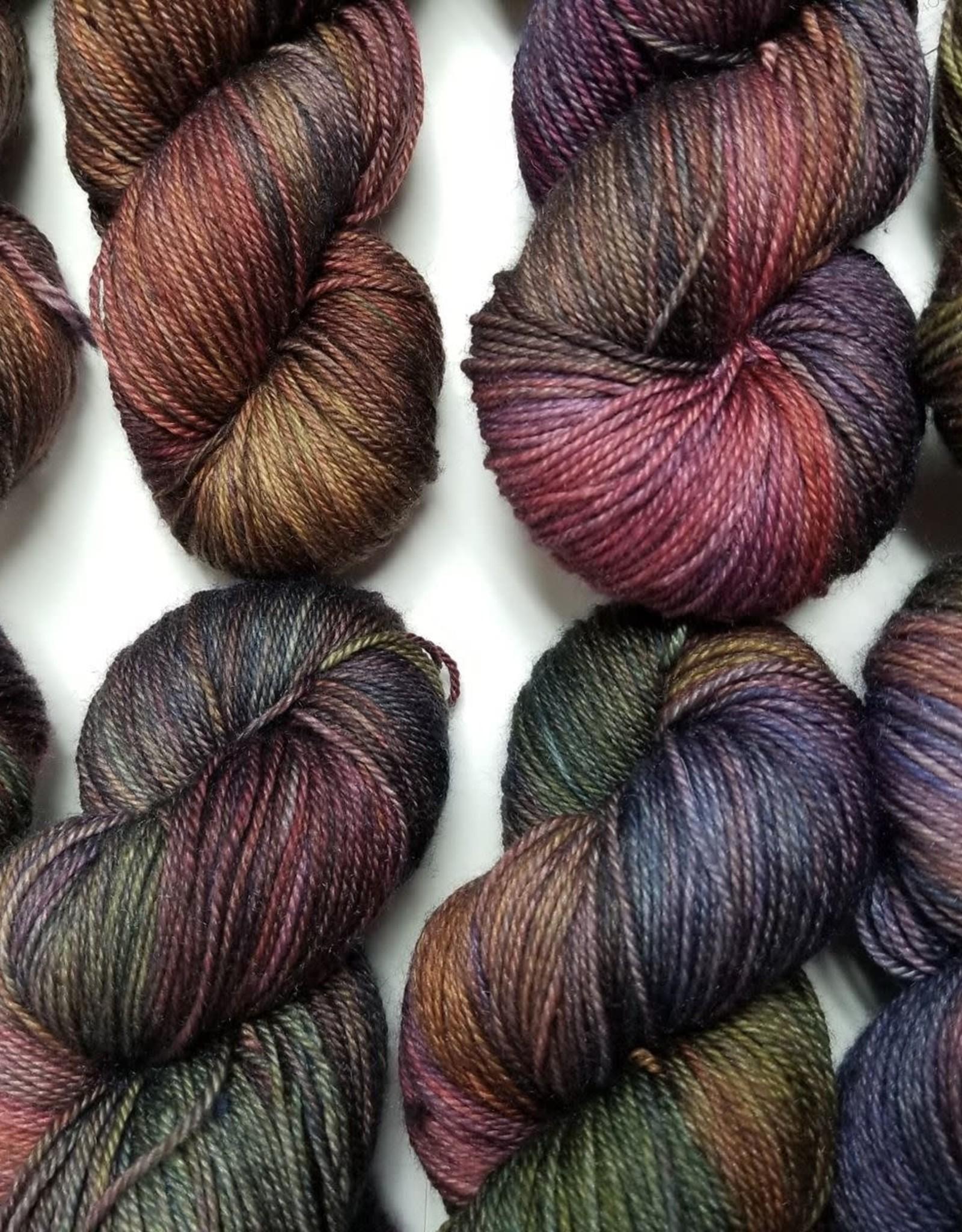 Palouse Yarn Company Cashmere Squeeze Double Rainbow