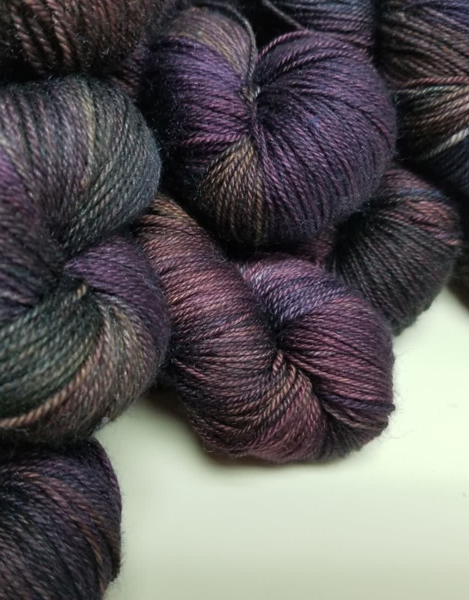Palouse Yarn Company Cashmere Squeeze Never Enough Purple