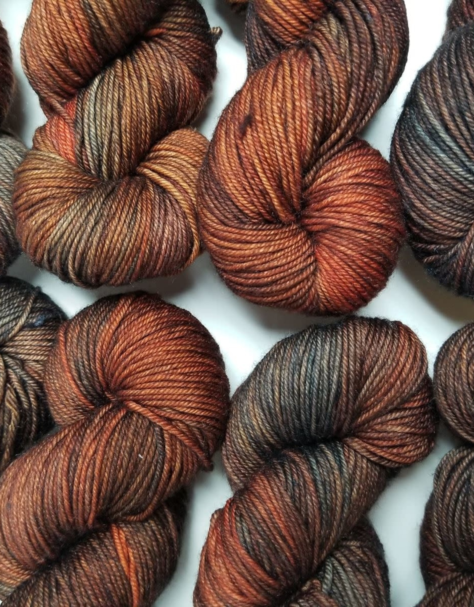 Palouse Yarn Co Sweater Squeeze Fire Fox