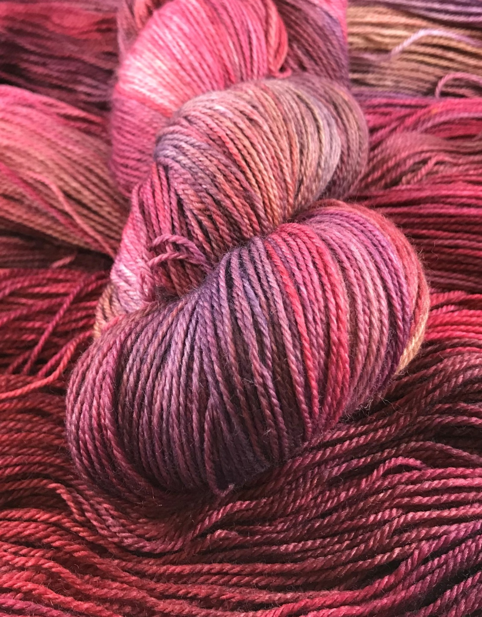 Palouse Yarn Company Organic Merino Sock Northern Lights