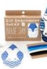 Kiriki Embroidery Kit Level 3 blue jay
