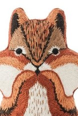 Kiriki Embroidery Kit Level 3 chipmunk
