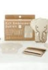 Kiriki Embroidery Kit Level 1 elephant