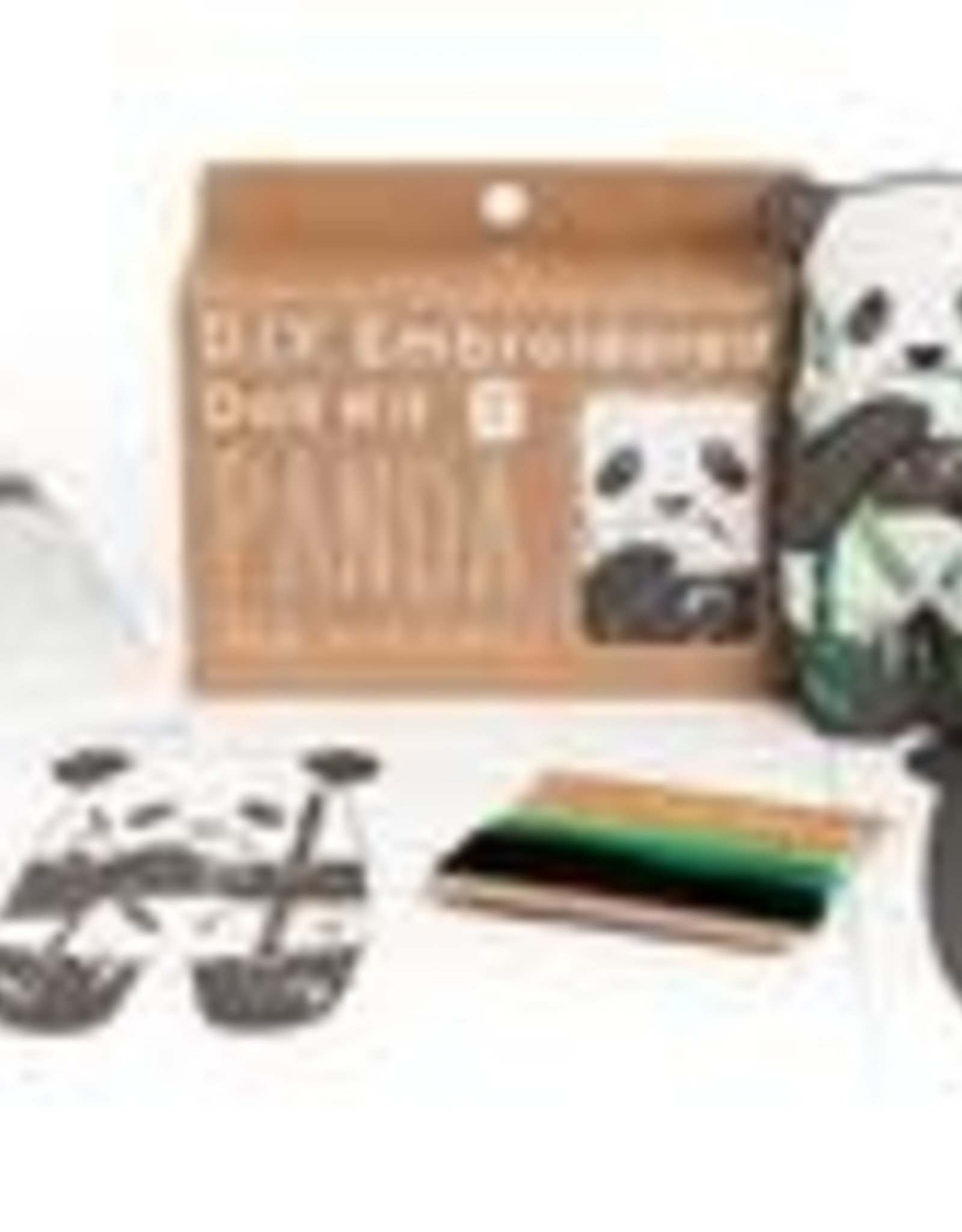 Kiriki Embroidery Kit Level 1 panda