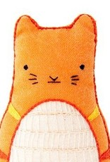 Kiriki Embroidery Kit Level 2 tabby cat