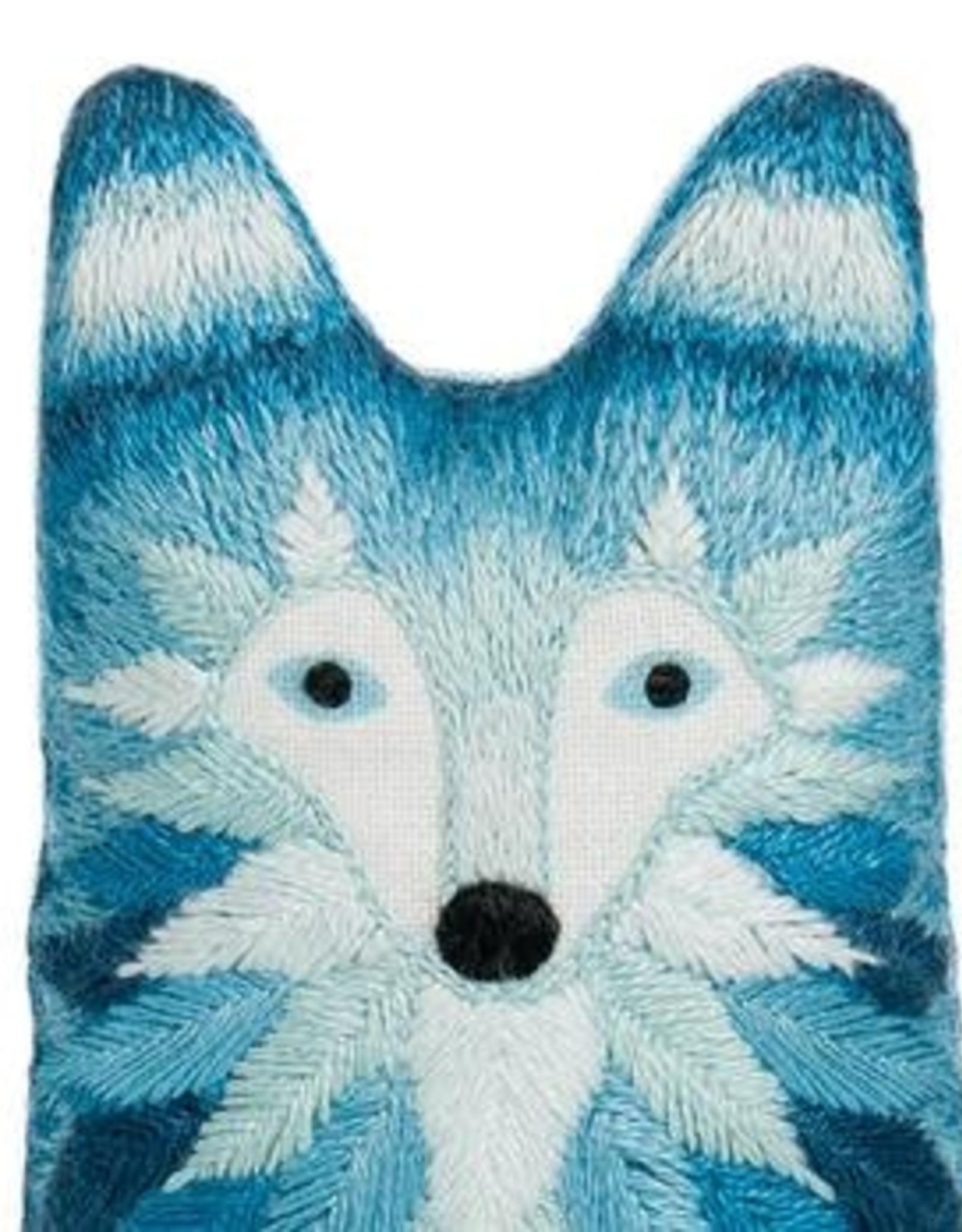 Kiriki Embroidery Kit Level 3 Wolf