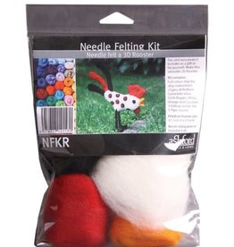 Ashford Needle Felting Rooster Kit