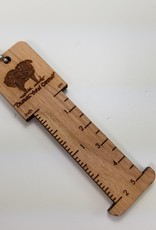 "Palouse Yarn Co 2"" WPI gauge & ruler"