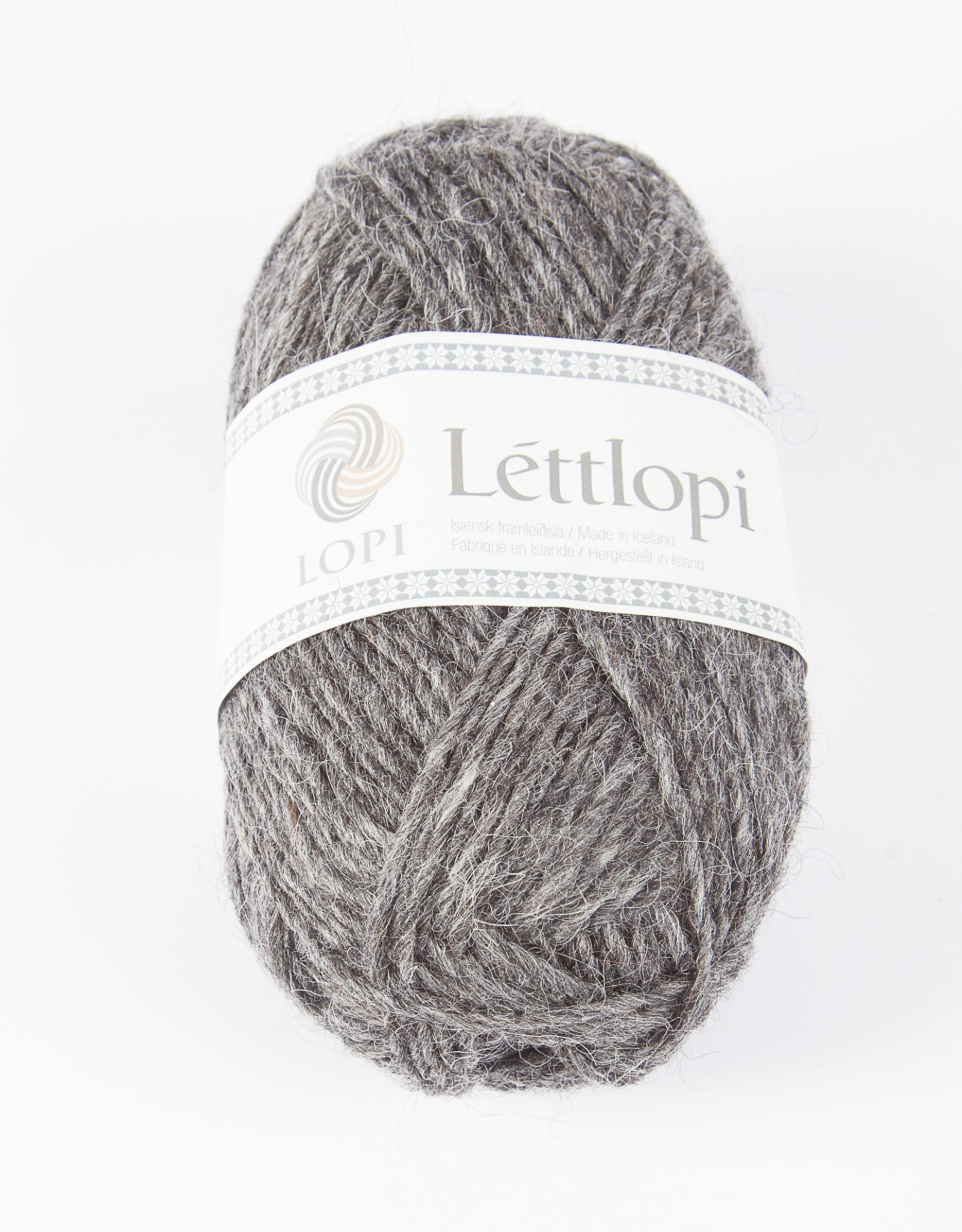 Lettlopi 50g 58 dark gray heather