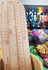 Katrinkles Sock Ruler